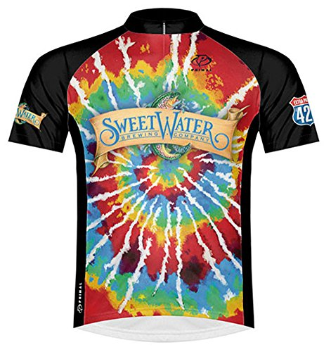 Primal Wear Sweetwater Brewing Company Beer Cycling Jersey Men s 3XL Short  Sleeve 04e3d3a68