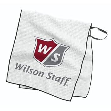 WILSON W/S Caddie Tour Towel Toallas de Golf, Unisex Adulto, Blanco, Talla Única: Amazon.es: Deportes y aire libre