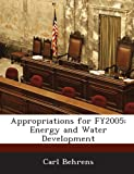 Appropriations for Fy2005, Carl Behrens, 1288673469