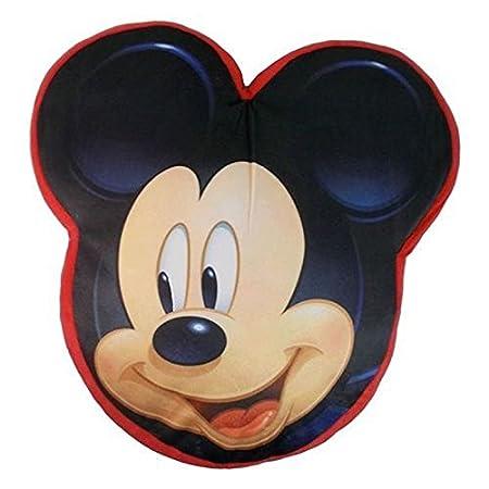 Kids Euroswan Cojín con Forma de 40 cm, Estampado Mickey ...