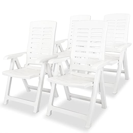 festnight Juego de sillas sillones reclinabili plegables con ...