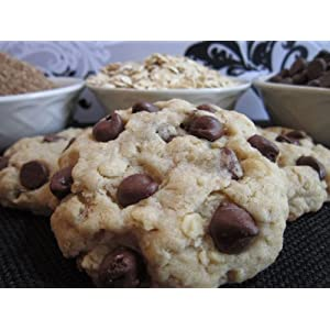 Chubby Babies Oatmeal Chocolate Chip Lactation Cookie Mix - Made with Barley Flour, Oats, Flax Seed and Brewer's Yeast