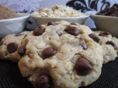 Chubby Babies Oatmeal Chocolate Chip Lactation Cookie Mix - Made with Barley Flour, Blessed Thistle, Oats, Flax Seed and Brewers Yeast