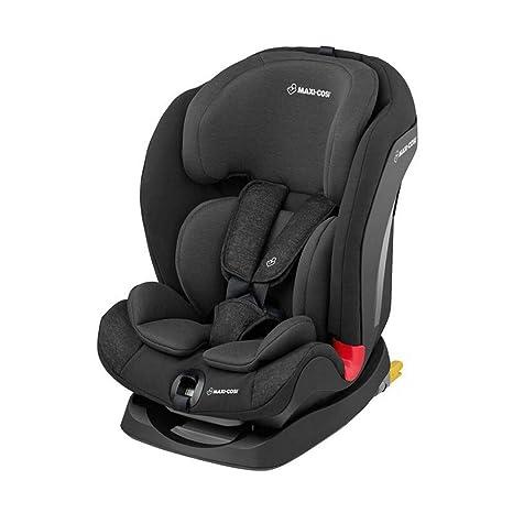 Maxi-Cosi Titan - Silla de coche para niños/niños pequeños, grupo 1/2/3, convertible, reclinable, ISOFIX, 9 meses - 12 años, negro (Nomad Black)