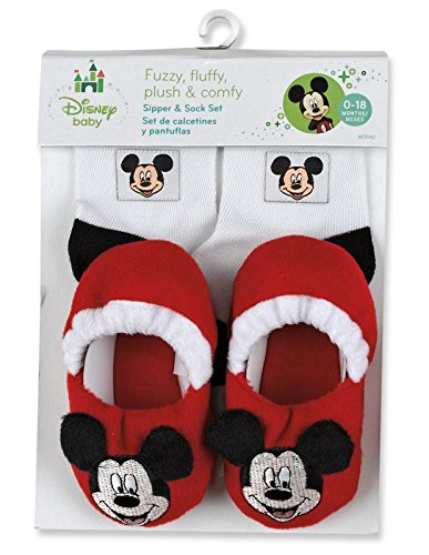 Mickey Mouse Sock & Slippers Set