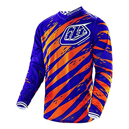 2016 Troy Lee Designs Youth GP Vert Jersey-Purple-YM by Troy Lee Designs (Image #3)