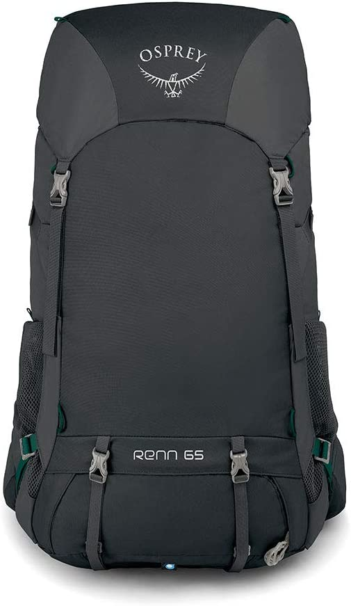 Osprey Renn 65 Womens Ventilated Backpacking Pack - Cinder Grey (O/S): Amazon.es: Deportes y aire libre