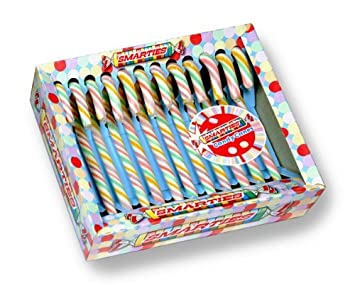 Amazon Smarties Candy Canes Hard Grocery Gourmet Food