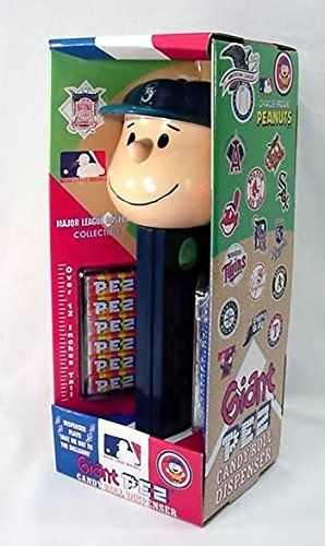(Charlie Brown Seattle Mariners - Giant Pez Dispenser)
