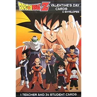 Amazon Funimation Production Inc Dragon Ball Z 35 – Dragon Valentine Cards