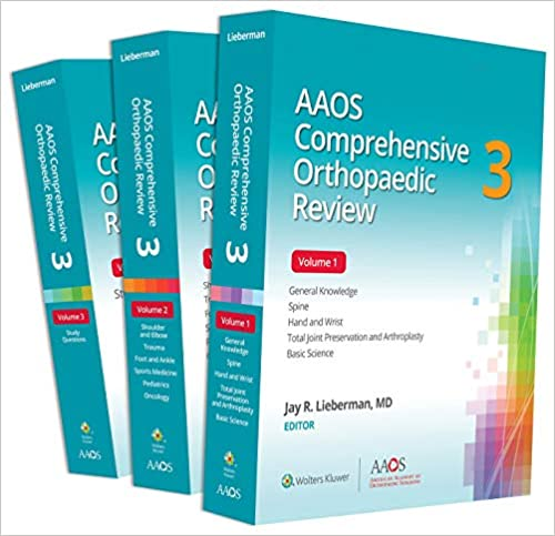 AAOS Comprehensive Orthopaedic Review 3, 3rd Edition