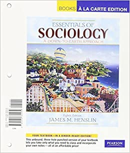 Essentials Of Sociology A Down To Earth Approach Pdf