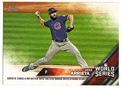 63169f100ee 2016 Topps Chicago Cubs World Series Champions Box Set  WS-4 Jake Arrieta  Cubs