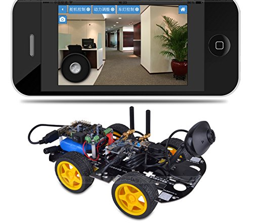 Miroad SM3 Wi-Fi Smart Robot Car Kit for Arduino, 4 Wheel - Import It All