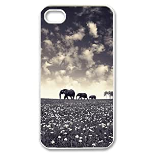 taoyix diy Elephant DIY Cover Case for Iphone 5C,personalized phone case ygtg525364