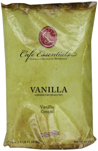 Café Essentials Vanilla Cream Beverage Mix, 3.5 Pound Bag