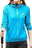 #3: Mr.Stream Women's Mountain UV Protect Hiking Windbreaker Walking Lightweight Jacket Thin Outdoor Hooded Coat