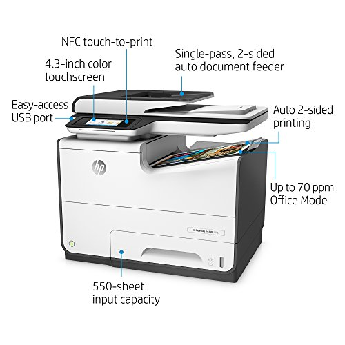 Hp Pagewide Pro 577dw Color Multifunction Business Printer