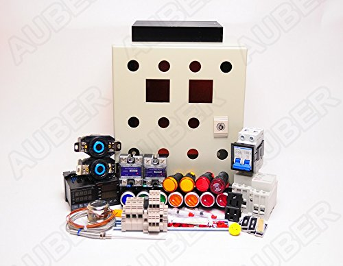 Powder Coating Oven Controller Kit w/ Light & Fan Control, 240V 50A 12000W (KIT-PCO2-LF)