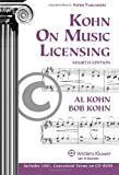 Kohn on Music Licensing 4e W/ Cd, Kohn, Al, 0735590907