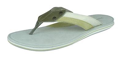0693c0036247e4 Puma Sandale Mens Leather Flip Flops Sandals  Amazon.co.uk  Shoes   Bags