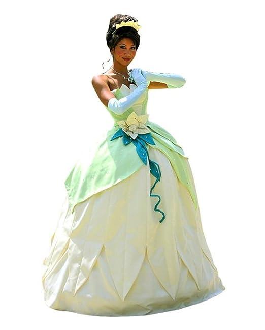 Tiana Mujer Halloween Adulto De Frog Deluxe 11 Princess Disfraz zpMVGqSU