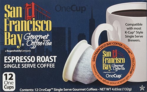 San Francisco Bay Coffee OneCup, Espresso Roast, 12 Count (Pack of - The Bay Shop Online
