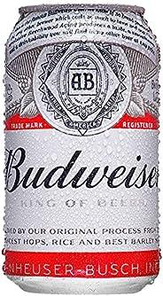 Cerveja Budweiser, Lata, 350ml 1un