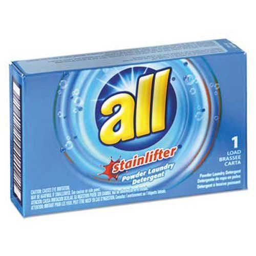 All All Ultra Coin-Vending Powder Laundry Detergent, 1 load, (Powder Laundry Detergent Coin)