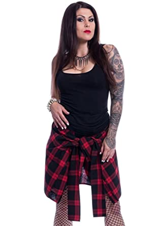 0a327bf93f Chemical Black Alanis Skirt: Amazon.co.uk: Clothing