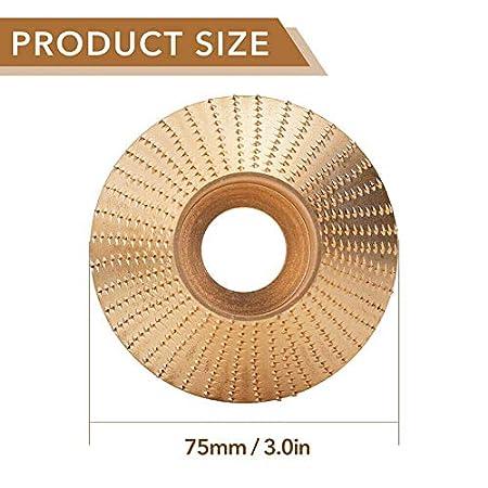 Du/šial Tungsten Carbide Grinding Wheel 4 Woodworking Wood Angle Grinding Wheel