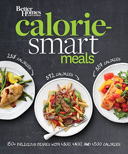 Better Homes and Gardens Calorie-Smart Meals: 150 Recipes for Delicious 300-, 400-, and 500-Calorie Dishes (Better Homes and Gardens Cooking) (400 Garden)