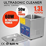 OrangeA Ultrasonic Cleaner Ultrasonic Cleaner Solution Heated Ultrasonic Cleaner for Jewelry Watch Cleaning Industry...
