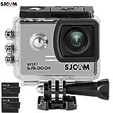 SJCAM SJ5000X Elite WiFi 4K 24fps 2K30fps Gyro Sports DV 2.0 LCD NTK96660 Diving 30m Waterproof Action Camera Silver+ Extra 1 Battery