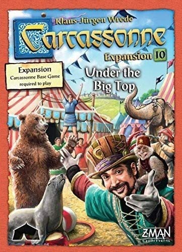 (Carcassonne Expansion 10: Under the Big Top)