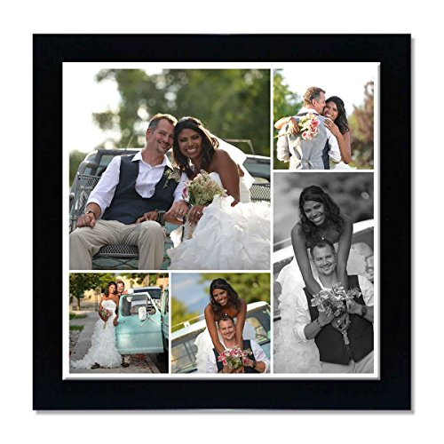 Buy Clixicle Free Customization Photo Collage Poster With Black
