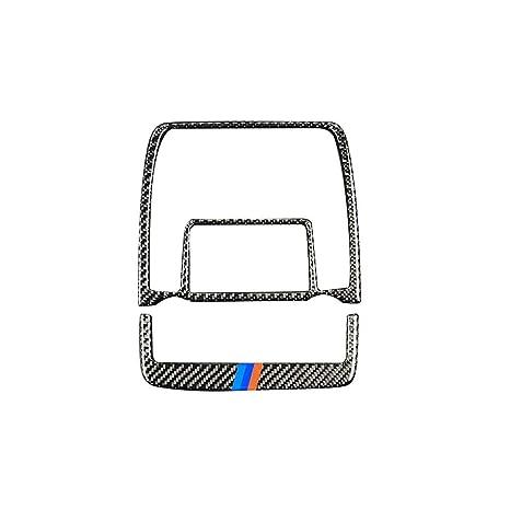 Bodbii 2pcs / Set de Fibra de Carbono luz de Lectura Ajuste de la Cubierta Interior