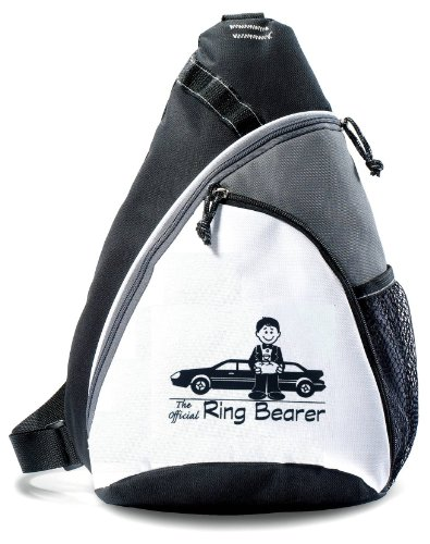 Kid Friendly Weddings Ring Bearer Backpack -