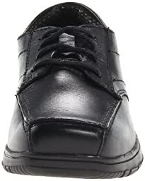Kenneth Cole Reaction Blank Check Oxford (Little Kid/Big Kid),Black,13.5 M US Little Kid