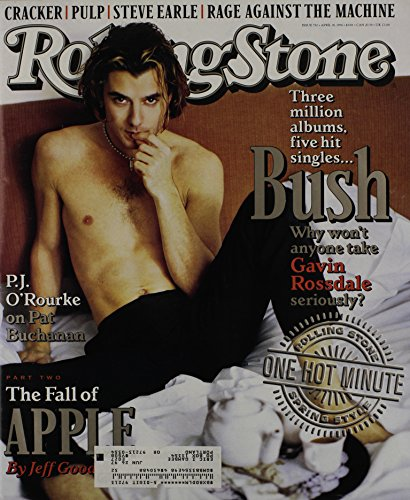 Rolling Stone Magazine # 732 April 18 1996 Gavin Rossdale Bush (Single Back Issue) ()