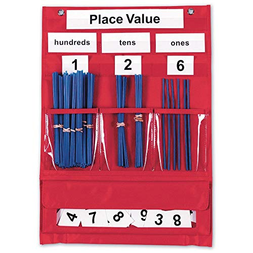 Learning Resources Counting & Place Value Pocket Chart