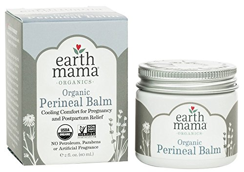 Earth Mama Organic Perineal Balm, 2 Ounce, 2 Pack
