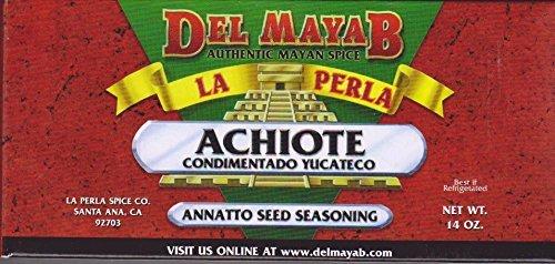 La Perla del Mayab Annatto Seed Paste Achiote, 14 oz.