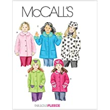 McCall's Patterns M4961 Children's/Girls' Unlined Coats and Hats, Size CX (XSM-SML)
