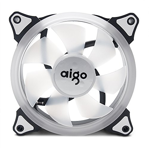 3 Fans 1 Controller. ZXLLAFT RGB 120Mm Dual Halo PC Cooling Fan