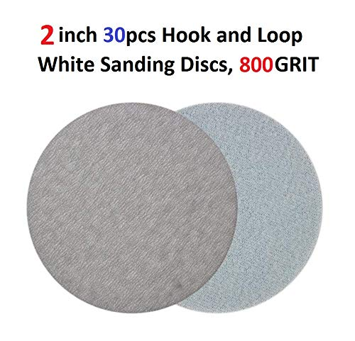 Grits 60-1200 2 inch 30pcs Hook and Loop Sanding Discs