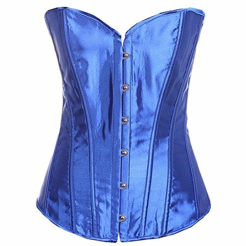 Yall Escultura Corporal Clip cintura cintura corsé de formación Blue