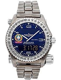 Emergency Quartz (Battery) Blue Dial Mens Watch E5632110/C537 (Certified Pre-Owned)