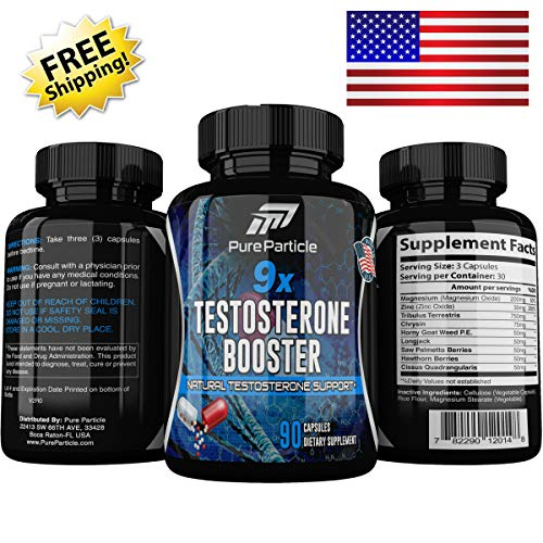 Testosterone Booster Supplement for Men, The Original 9X Best Test Booster for Low T