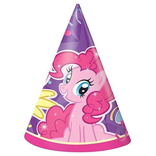 Unique My Little Pony Party Hats, 8ct]()